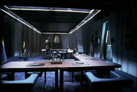 Meeting room on Galactica