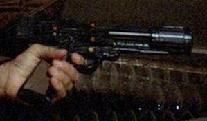 Battlestar galactica greetings from earth part 2 colonial laser pistol m4hsunfo