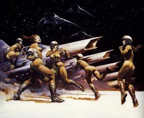 "Frazetta ""Lost Planet of the Gods"""