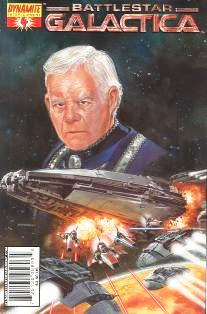 Cover of Classic Battlestar Galactica #4